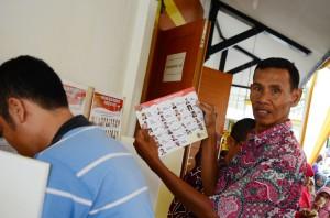 Masyarakat ikut memilih capres RI dari PKS di DPW PKS Lampung