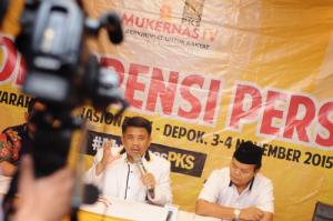 konferensi pers_Mukernas 4 PKS_Khairuddin Safri 02