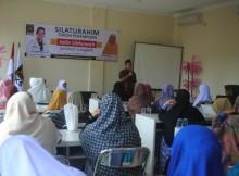 Ket Foto : Waktu DPD PKS Bandar Lampung  Muchlas E Bastari Saat Memberikan Sambutannya.